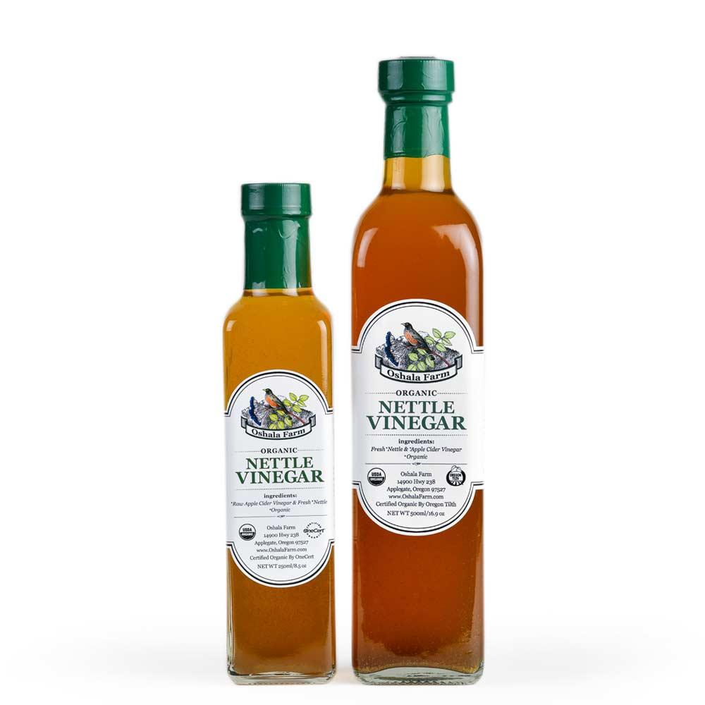 Nettle Vinegar Oshala Farm